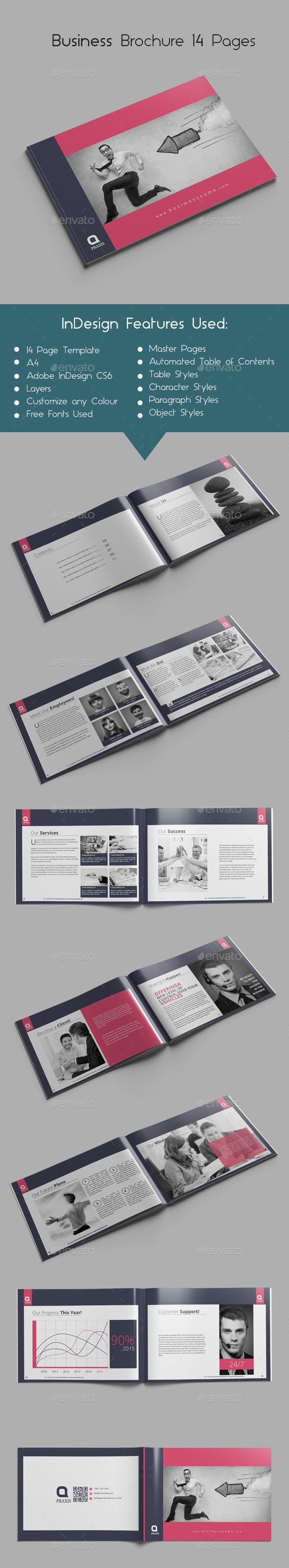 GraphicRiver Business Brochure 14 Pages 9790800