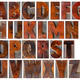 alphabet in vintage wood type - PhotoDune Item for Sale
