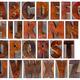 alphabet in vintage wood type - PhotoDune Item for Sale