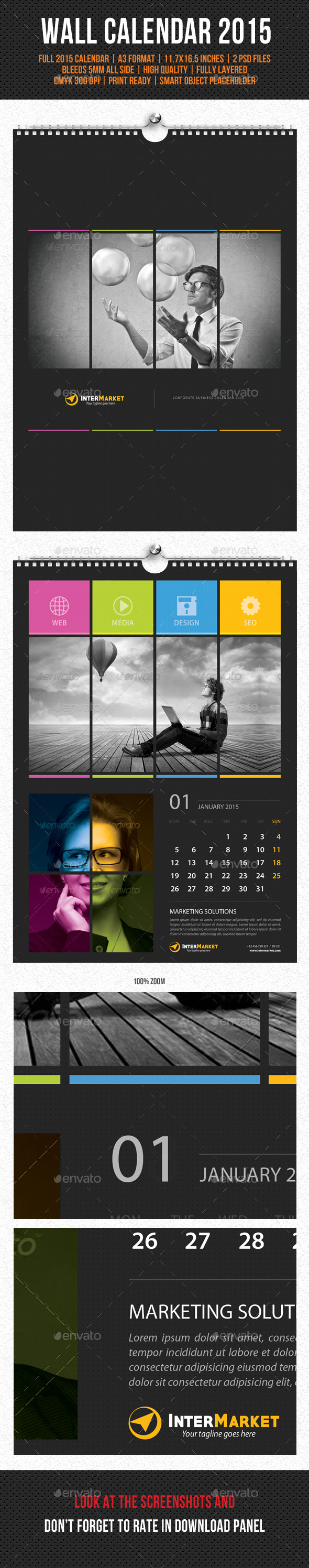 GraphicRiver Corporate Wall Calendar 2015 V04 9791401