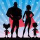 Superhero Family - GraphicRiver Item for Sale