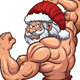 Strong Santa - GraphicRiver Item for Sale