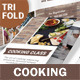 Cooking Class / School Trifold Brochure - GraphicRiver Item for Sale