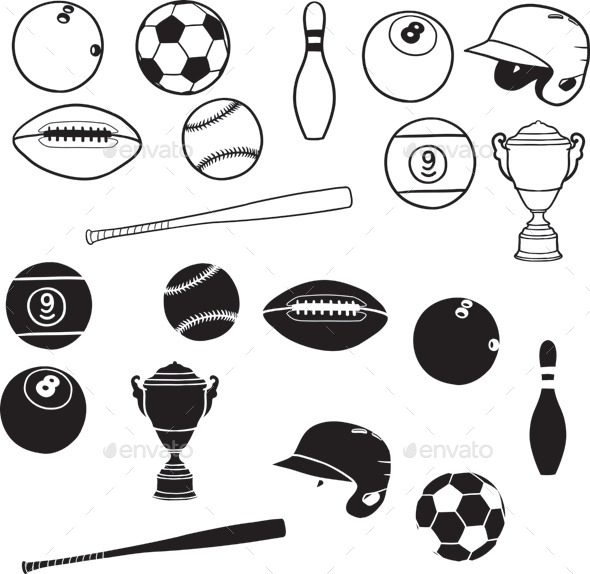 GraphicRiver Sport Element 9791733