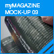 myMagazine Mock-up 03 - GraphicRiver Item for Sale