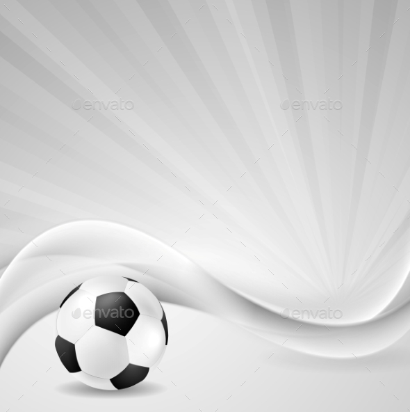 GraphicRiver Soccer Background with Abstract Waves 9792405