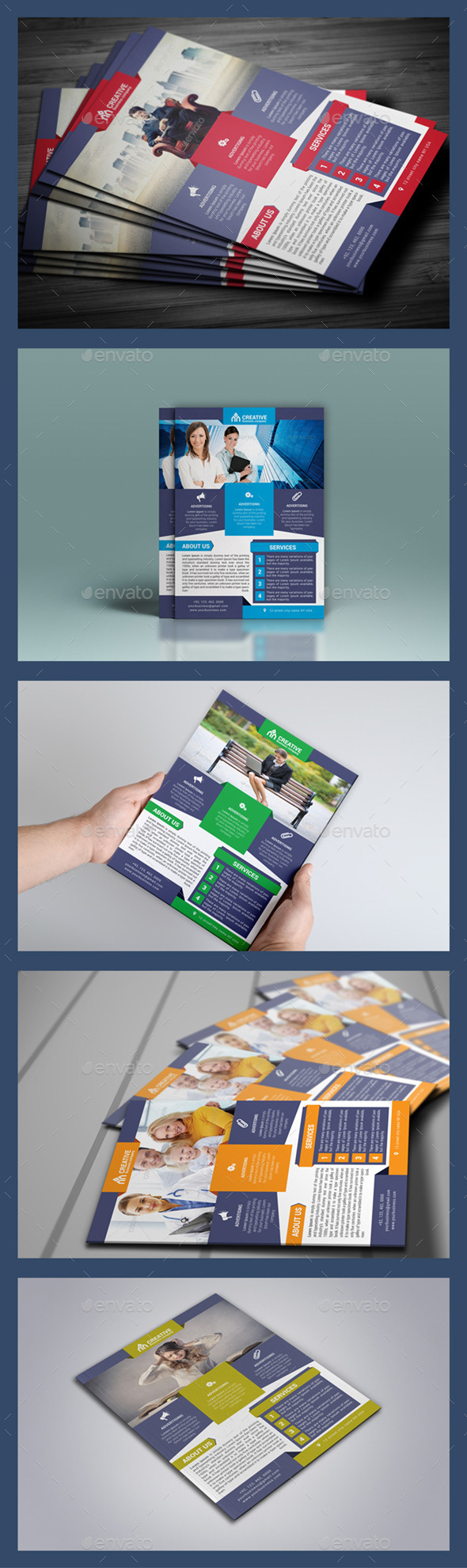 GraphicRiver Creative Business Flyer 9792451