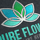 Pure Flower Logo - GraphicRiver Item for Sale