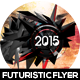 2015 Electro Futuristic Flyer Design - GraphicRiver Item for Sale