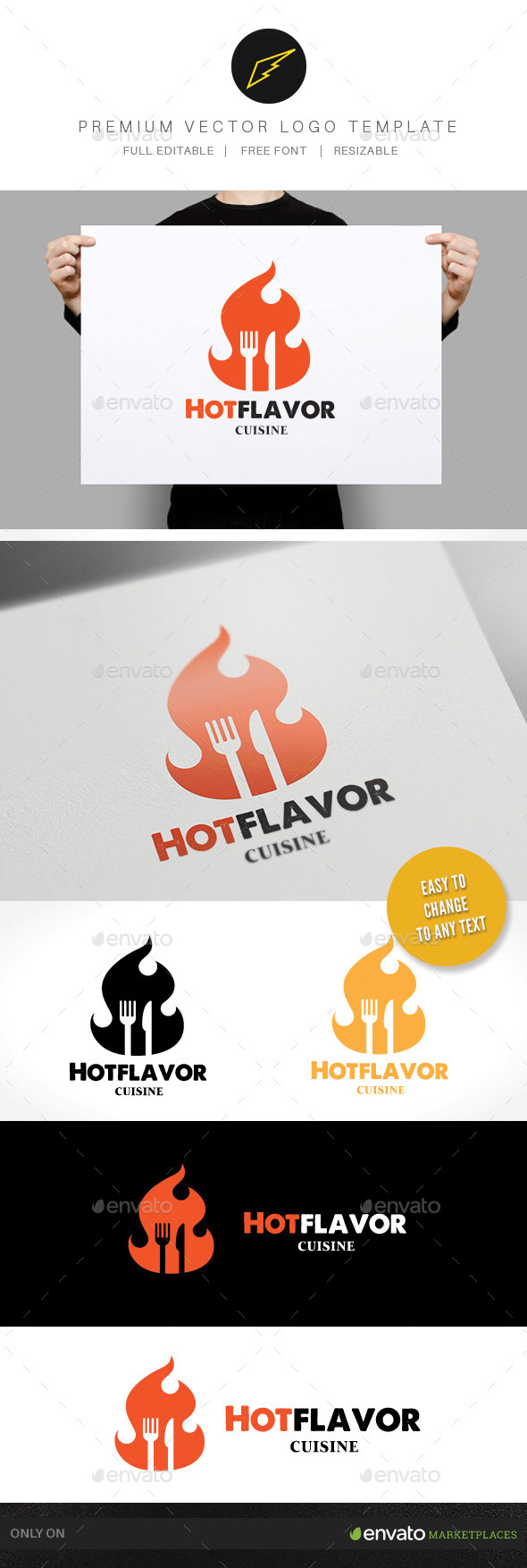 GraphicRiver Hot Flavor 9793200