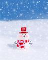 Cute little snowman - PhotoDune Item for Sale