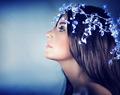 Beautiful snow queen portrait - PhotoDune Item for Sale