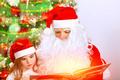 Santa Claus with cute granddaughter - PhotoDune Item for Sale