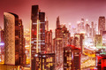 Beautiful background of Dubai at night - PhotoDune Item for Sale