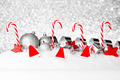 Christmas decorations on snow - PhotoDune Item for Sale