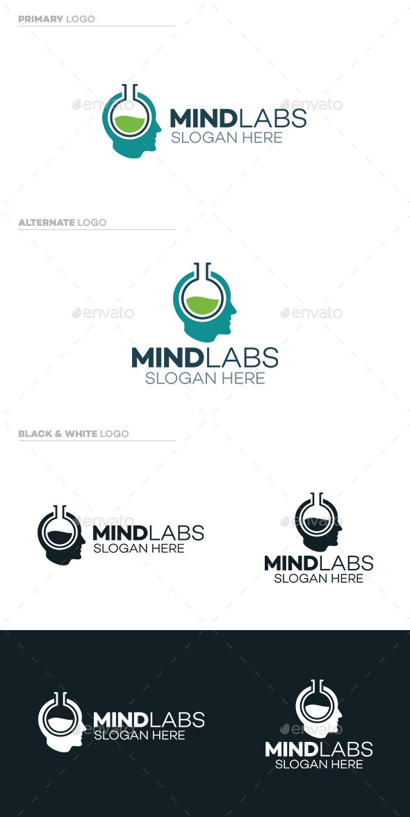 GraphicRiver Mind Labs Logo 9793365