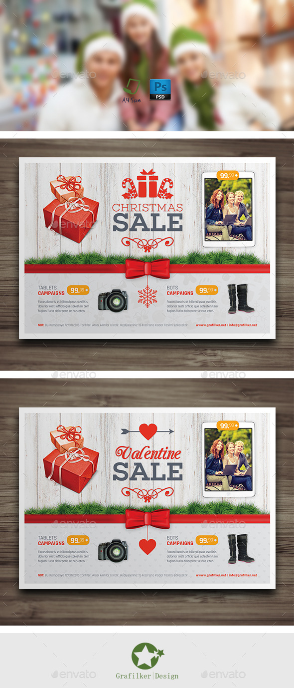GraphicRiver Special Day Sale Flyer Templates 9793386