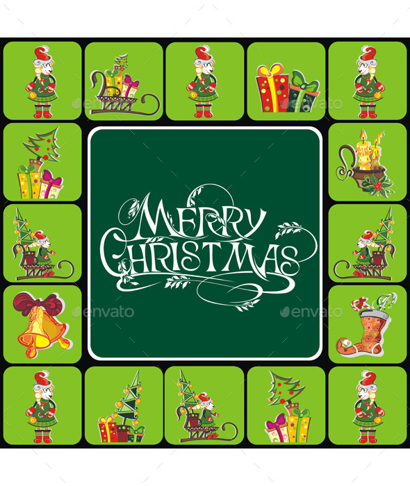 GraphicRiver Christmas Elements 9793410