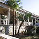 Exterior of Old Abandoned Building With Palm Tree  - VideoHive Item for Sale