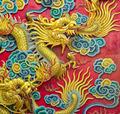 Golden Dragon sculpture  - PhotoDune Item for Sale