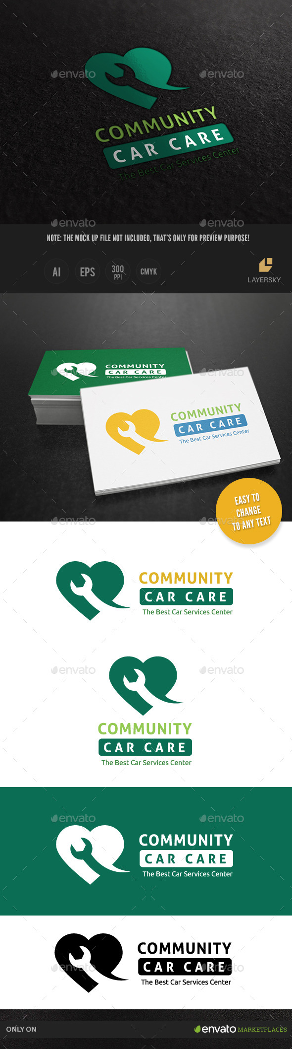 GraphicRiver Car Services Logo 9793710