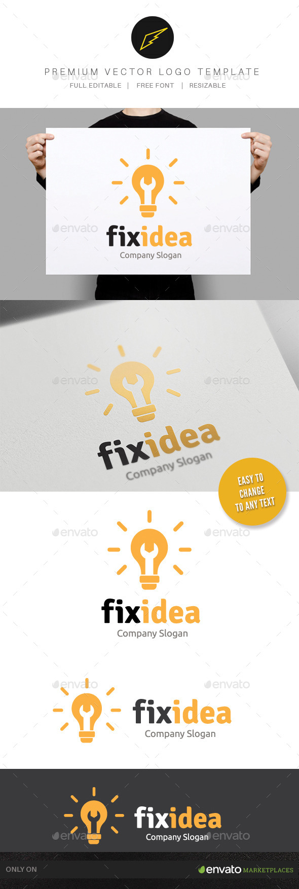 GraphicRiver Fix Idea 9793891