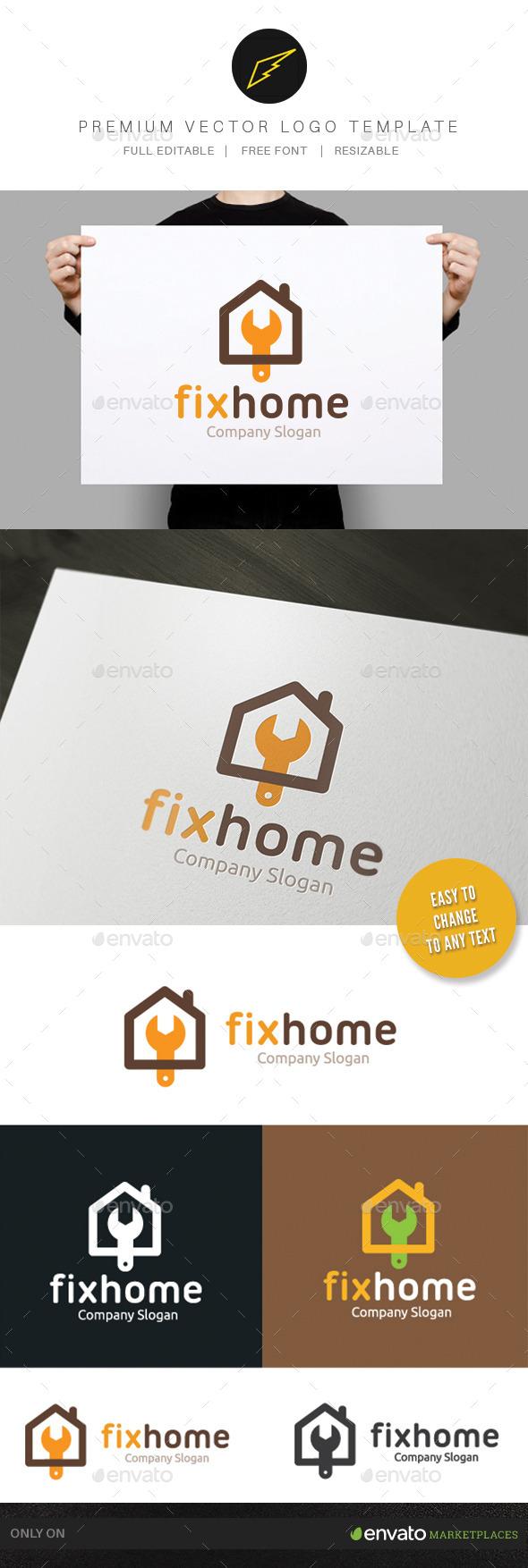 GraphicRiver Fix Home 9794482