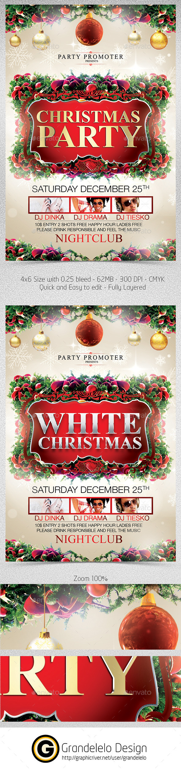 GraphicRiver Christmas The Flyer Template 9744059