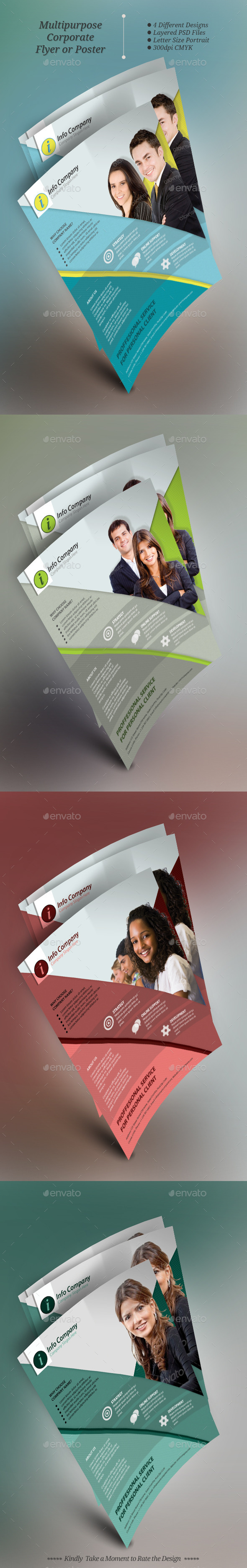 GraphicRiver Multipurpose Corporate Flyer Templates 9794750
