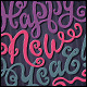 Happy New Year Hand Lettering Set - GraphicRiver Item for Sale