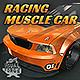 Racing Muscle Car - 3DOcean Item for Sale