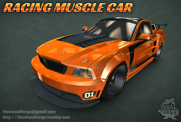 3DOcean Racing Muscle Car 9794931