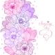 Flowers Stripe Design - GraphicRiver Item for Sale