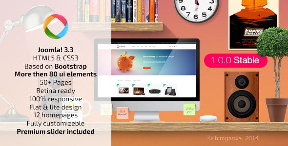 ThemeForest Progressive Multipurpose Joomla Template 9795071