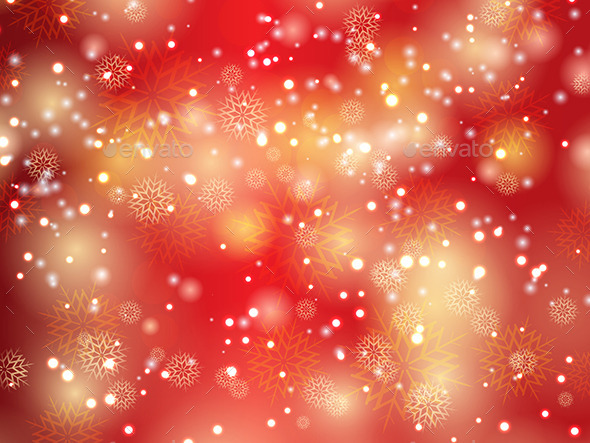GraphicRiver Christmas Snowflakes and Stars 9795248