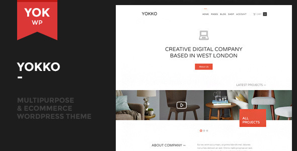 ThemeForest Yokko Multipurpose and WooCommerce WordPress Theme 9795311