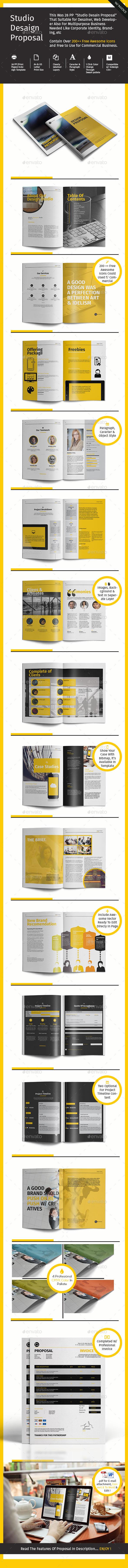 GraphicRiver Studio Design Proposal 9522921