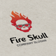 Fire Skull Logo - GraphicRiver Item for Sale