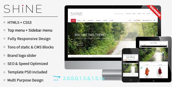 Shine - Responsive Multipurpose OpenCart  Theme  - Shopping OpenCart