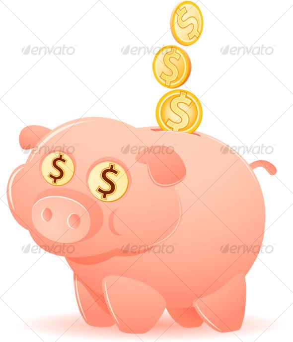 GraphicRiver Feeding the Piggy Bank 124497