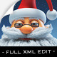 Santa - Christmas Magic Full XML / AS3 - ActiveDen Item for Sale