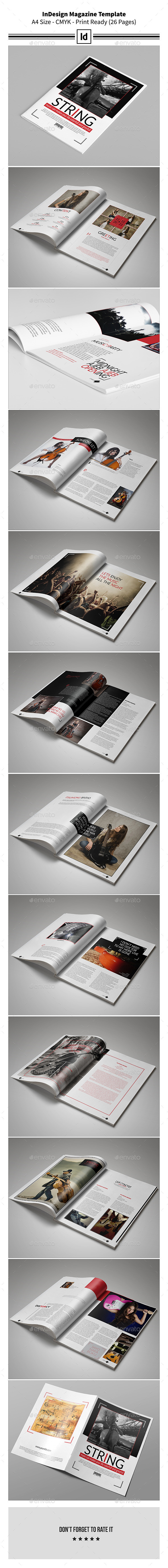 GraphicRiver InDesign Magazine Template 9751045