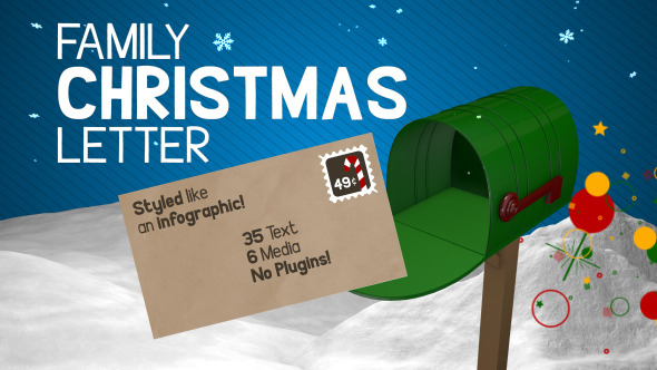 Family Christmas Letter