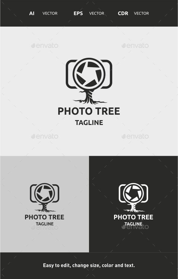 GraphicRiver Photo Tree 9796846