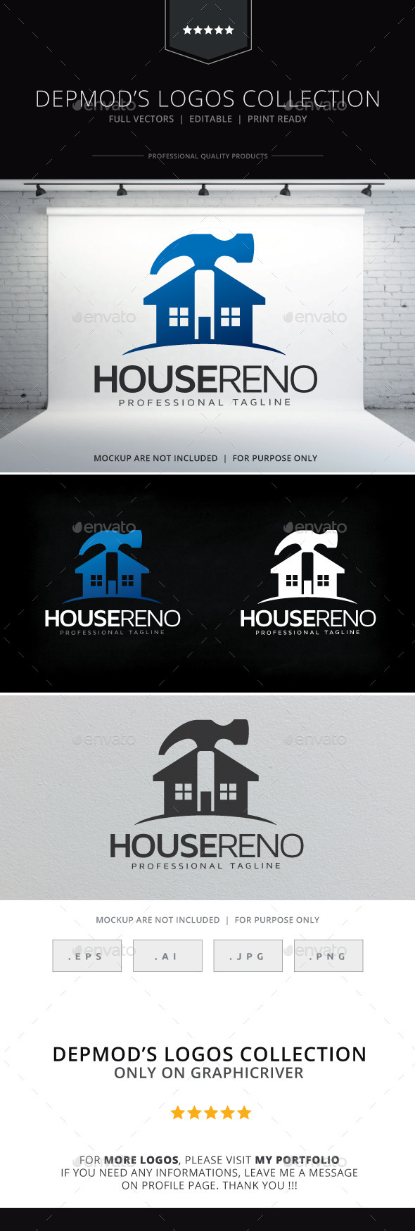 GraphicRiver House Reno Logo 9796872