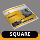 Folio Square Brochure Template - GraphicRiver Item for Sale
