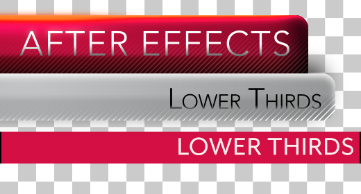 After Effects Lower Thirds Collection