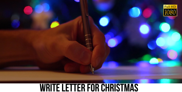 Write Letter For Christmas