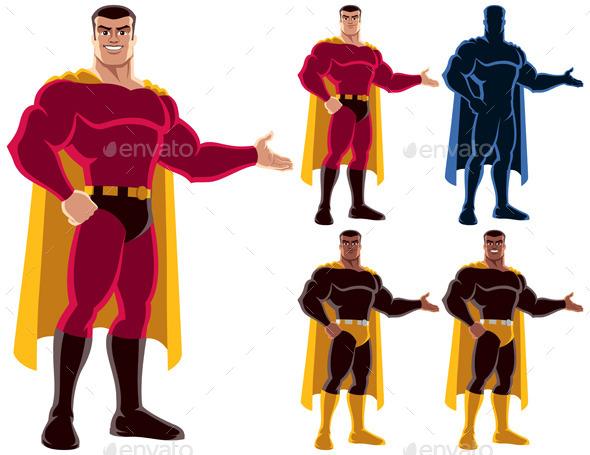 GraphicRiver Superhero Presenting 9797353
