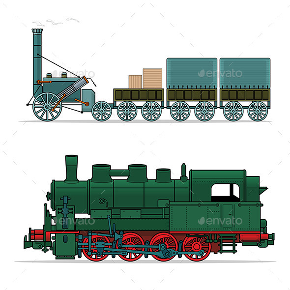 GraphicRiver Train 9797931
